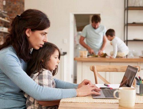 5 mẹo giúp cân bằng giữa làm việc từ xa và chăm sóc gia đình